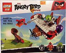 """Конструктор Angry Birds Lepin 19002 """"Самолетная атака свинок"""", 185 дет"""