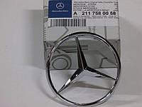 Емблема кришки багажника Mercedes-Benz W211
