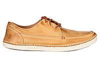 Мужские туфли Timberland Boat желтые