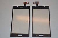 Тачскрин / сенсор (сенсорное стекло) для LG Optimus L7 P700 P705 P750 (черный цвет, самоклейка)