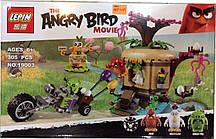 """Конструктор Angry Birds Lepin 19003 """"Кража яиц с Птичьего острова"""", 305 дет"""