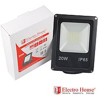 LED прожектор 20W IP65 ElectroHouse