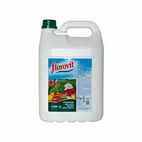 Флоровит жидкий универсальный 5 л (для опрыскивания с прилипанием, от болезней)