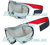 Маска горнолыжная/лыжные очки Spyder Pro с двойным стеклом: серебро (Silver)