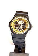 Наручные часы Casio G-Shock GA-200 черные с золотым