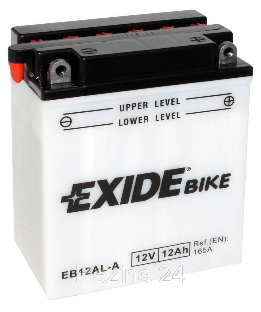 Аккумулятор Exide 12V 12AH/165A (EB12AL-A) - Rezina 24 в Львове