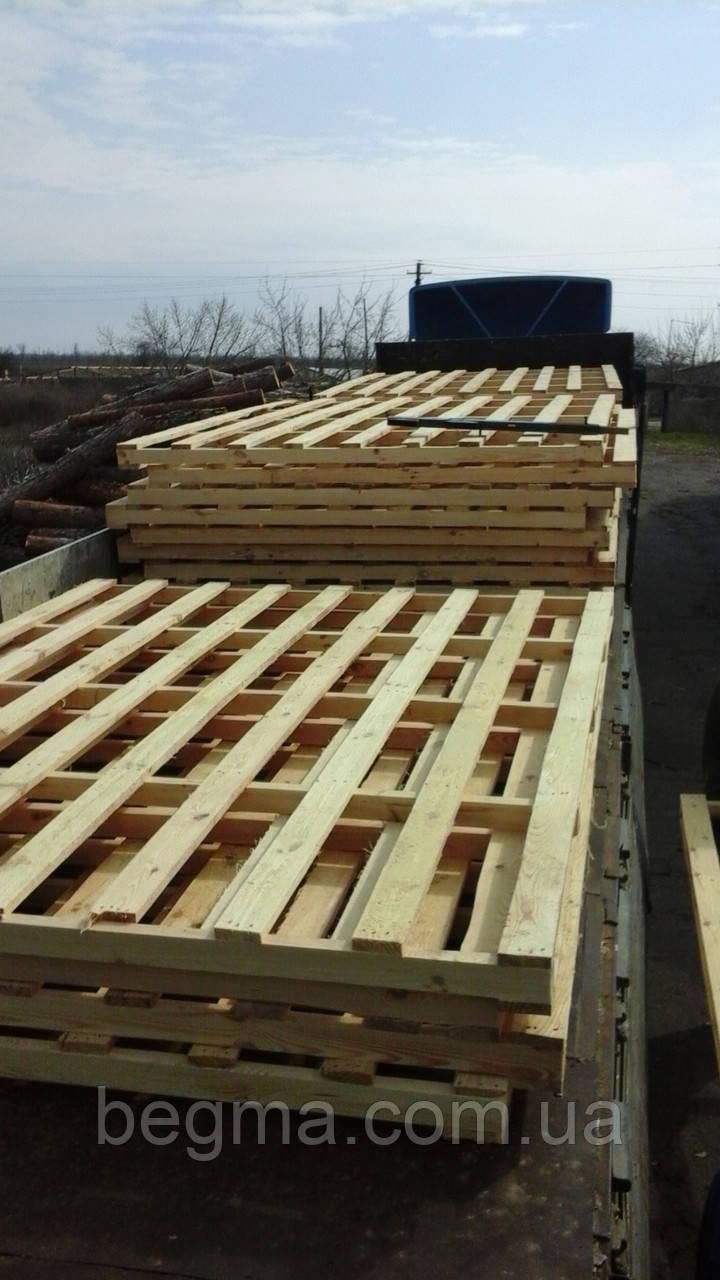 Поддоны деревянные не стандартные
