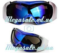 Маска горнолыжная/лыжные очки Spyder Pro с двойным стеклом: 4 цвета
