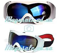 Маска горнолыжная/лыжные очки Spyder Pro с двойным стеклом: белая (White)