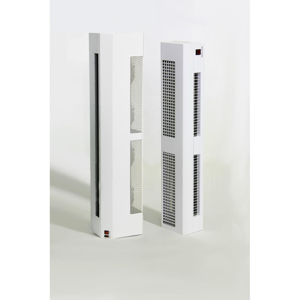 Электрическая тепловая завеса 10.8 кВт вертикальная