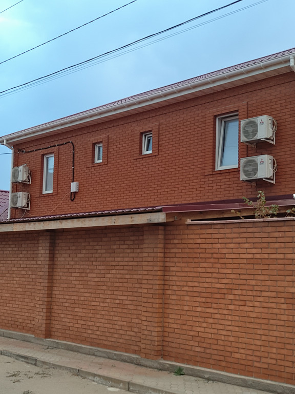 Монтаж кондиционеров Mitsubishi Electric в частном доме, поселок Мелекино