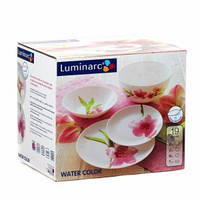 Сервиз столовый Luminarc Water Color 19 предметов стеклокерамика (4905)