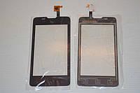 Оригинальный тачскрин / сенсор (сенсорное стекло) для Fly IQ449 Pronto (черный цвет) + СКОТЧ В ПОДАРОК