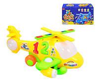 """Музыкальная, Развивающая Игрушка -""""Вертолет"""" ZYB-B 0153 (60) свет, музыка, на батарейке, в коробке """"ZHORYA"""""""