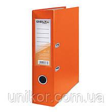 Реєстратор, 7,5 див., А4 одностороння, помаранчевий. Delta by Axent
