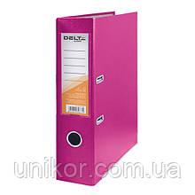 Реєстратор, 7,5 див., А4 одностороння, рожевий. Delta by Axent