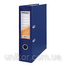 Регистратор 7,5 см., А4 односторонняя, синий. Delta by Axent