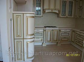 Кухонный гарнитур с фасадом из массива, фото 2