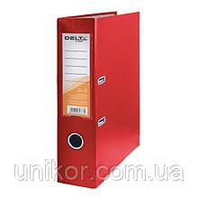Реєстратор, 7,5 див., А4 одностороння, червоний. Delta by Axent