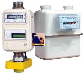 Счётчики газа