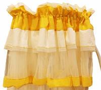 Балдахин Feretti желтый