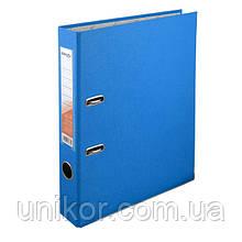 Регистратор 5 см., А4 односторонняя, голубой. Delta by Axent