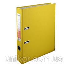 Реєстратор 5 см, односторонній А4, жовтий. Delta by Axent