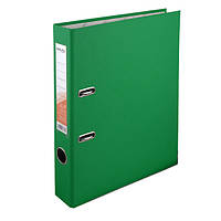 Регистратор 5 см., А4 односторонняя, зеленый. Delta by Axent