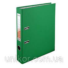 Реєстратор 5 см, односторонній А4, зелений. Delta by Axent