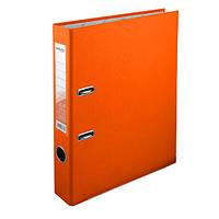 Регистратор 5 см., А4 односторонняя, оранжевый. Delta by Axent