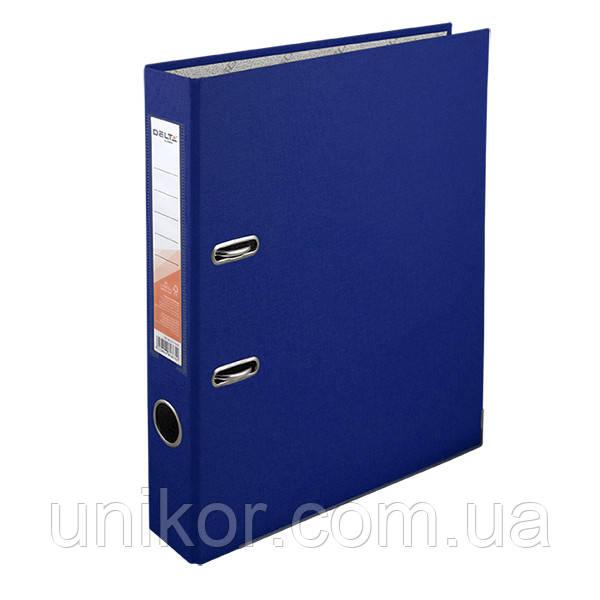 Регистратор 5 см., А4 односторонняя, синий. Delta by Axent