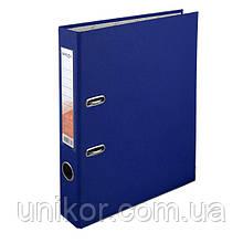 Реєстратор 5 см, односторонній А4, синій. Delta by Axent