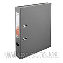 Регистратор 5 см., А4 односторонняя, серый. Delta by Axent