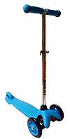 Самокат детский Scooter Mini регулировка руля PU Голубой