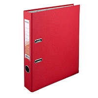 Регистратор 5 см., А4 односторонняя, красный. Delta by Axent