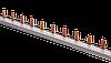 Шина соединительная типа PIN (штырь) 1Р 63А (длина 1м) шаг 18мм угловая типа Schneider Electric (Акция)