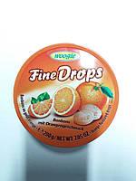 Льодяники woogie fine drops зі смаком апельсина