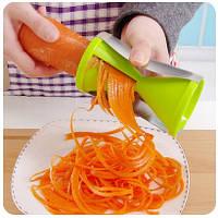 Ручная терка для моркови Spiral Slicer - терка для овощей
