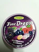 Леденцы woogie fine drops со вкусом лесных ягод