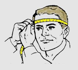 Как правильно измерить размер головы