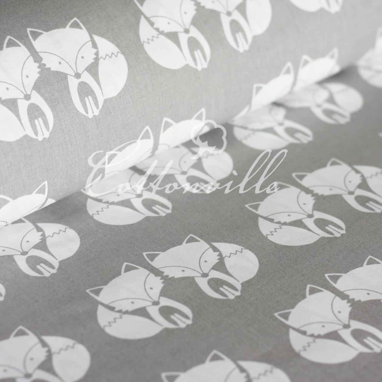 ✁ Отрезы хлопковой ткани Лисички
