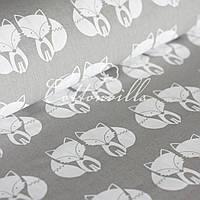 ✁ Отрезы хлопковой ткани Лисички, фото 1