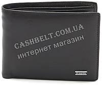 Мужской кожаный прочный стильный кошелек H.Verde art. 8135N черного цвета
