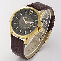 Часы Curren для стильных мужчин. Кварцевый механизм. Высокое качество. Классический дизайн. Код: КДН571, фото 1
