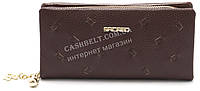 Женский кошелек барсетка коричневого цвета SACRED art.2280