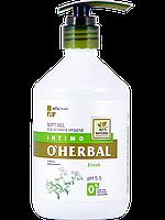 Нежный гель для интимной гигиены Fresh с экстрактом тысячелетника 500 мл O'Herbal