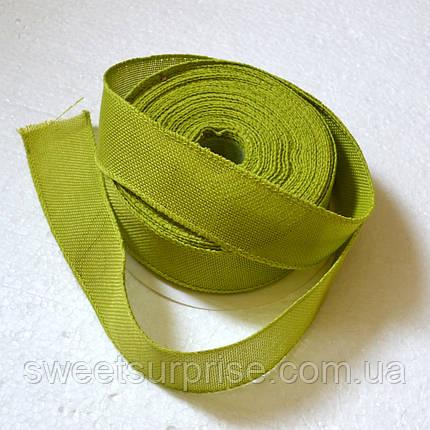 Лента декоративная 40 мм (оливковый), фото 2