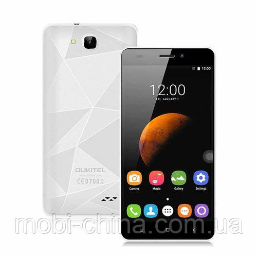Смартфон Oukitel C3 White Gold