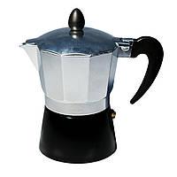 Кофеварка гейзерная Con Brio CB-6303 (150мл) (на 3 чашки)