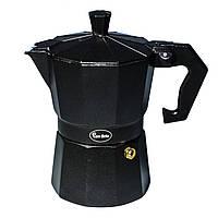 Кофеварка гейзерная Con Brio CB-6403 (150мл) (на 3 чашки)